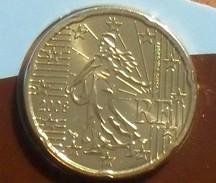 2008 - France - 20 CENT EURO, 2è Carte, 2nd Map, Scellée BU, KM 1411 - France