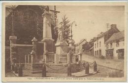 Châteauneuf-du-Faou-À Ses Enfants Morts Pour La France-(SÉPIA) - Châteauneuf-du-Faou