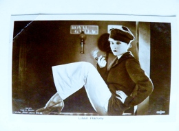 Old Post Card Film Cinema Movie Actor Actress Ross Lilian Harvey 1529 Smoking Pipe - Actors