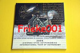 Griekenland - Grèce - Officiële Set 2009 BU Met 10 Euro Astronomie. - Griekenland