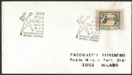 VE65   Reggio Calabria 1972 - Torneo Intercontinentale Softball Femminile - Intercontinental Softball Women's Tourney - Baseball