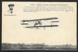 DE RIEMSDYCK Sur Biplan Curtiss (Hauser) - Aviadores