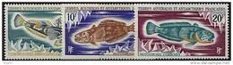 TAAF, N° 034 à N° 038** Y Et T, Poissons, 34 / 38 - Terre Australi E Antartiche Francesi (TAAF)