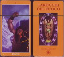 Lo Scarabeo - TAROCCHI DEL FUOCO, TAROTS OF THE FIRE . 79 Carte - Passatempi Creativi
