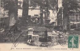 Bois De Meudon-Clamart 92 - Fontaine Sainte-Marie - Meudon