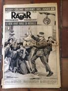 Journal Radar 6 Mars 1950 Celine Devant Ses Juges Demigny - 1950 à Nos Jours