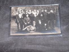 """PHOTO DE PRISONNIERS AU CAMP DE SOLTAU - Mention Au Dos """" Papa Au Camp De Soltau """". - 1914-18"""