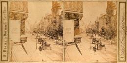 A. Braun, Paris, Rue St.Antoine, No.1678 - Stereoscoop