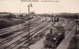 Massy-Palaiseau: Vue D'ensemble De La Gare. - Massy