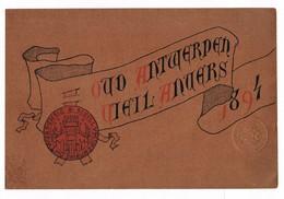 Oud Antwerpen  Vieil Anvers 1894 96 Blz Met Bijlagen - Unclassified