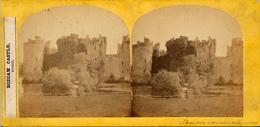 F.S.Mann, Bodiam Castle, Sussex, Hastings - Stereoscoop