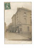 THD.0180/  Carte Photo - Thouars - Rue Des Clairettes Et Rue Porte Au Prevost - Voir état - Thouars