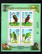 HONDURAS ,2004, UPAEP, BIRDS, S/S MNH** - Birds