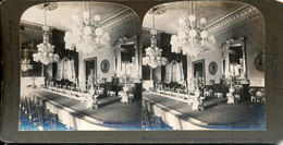 Washington DC, State Dining Room, President, American Stereoscopic Company - Stereoscoop