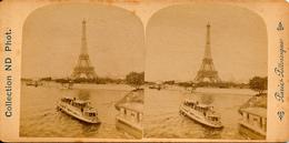 Paris, Tour Eiffel, Pittoresque, Collection ND Phot. - Stereoscoop