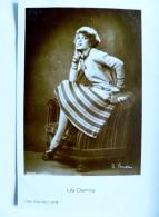 Old Post Card Film Cinema Movie Actor Actress Ross Lily Damita 1232 - Actors