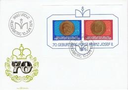 Liechtenstein - Mi-Nr Block 10 FDC (O416)