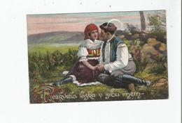 POLSKA (POLOGNE COUPLE EN  COSTUMES) 911/111 - Polonia