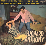 45tep Richard Anthony - Altri - Francese
