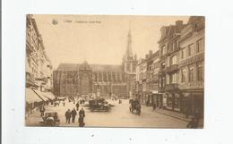 LIEGE 45 CATHEDRALE SAINT PAIL (MAGASIN D'AMEUBLEMENT C MALPAS) 1929 - Luik