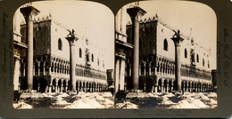 Venice, Italy, Palace Doge, R.Y.Young - Stereoscoop