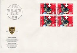 1964, FDC  Mi: 793  100 Jahre SUOV - Schweizerischer Unteroffziersverband. - FDC