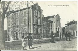 Vinay,hôpital Brun-Faulquier 1919 - Vinay