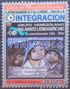 VENEZUELA 2004 The 40th Anniversary Of Latin American Parliament. USADO - USED. - Venezuela