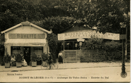 13176  - Val De Marne -  Boissy St Léger :  AUBERGE DU TOHU BOHU - ENTREE DU BAL  Terrasse Animée   RARE - Boissy Saint Leger