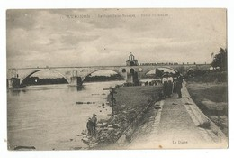 Avignon Le Pont Saint Benezet Bords Du Rhone - Avignon (Palais & Pont)