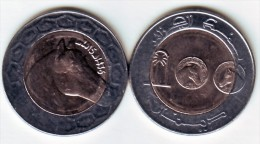 Algérie - Cheval - Horse - Pièce Bimetallique 100.00 DA  Bimillésime  2015-1436 Neuve Issue De Rouleau . - Algeria