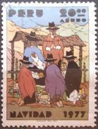 PERÚ 1977 Navidad. USADO - USED. - Peru