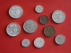Pays Bas Lot De 10 Pièces Dont 4 En Argent - [ 3] 1815-… : Royaume Des Pays-Bas