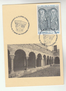 1988 FRANCE St Genis Eds Fontaines EVENT COVER (card) REPATRIATION ROMAN CLOISTER Church Religion Stamps - France