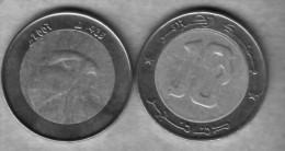 Algérie - Faucon- Piéce Bimétallique De 10.00 DA (Faucon - Falcon)  - 2007-1428. - Algeria