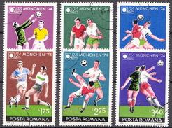 Romania Used Set - Coppa Del Mondo