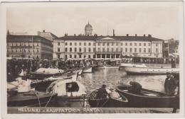 AK - HELSINKI - Markt Am Hafen - Finnland