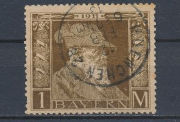 Beieren/Bavaria/Baviere/Bayern 1911 Mi: 86II Yt: 86 (Gebr/used/obl/o)(2404) - Bavière