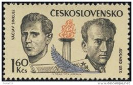 Czechoslovakia / Stamps (1973) 2019: Fighters Against Fascism During The Occupation - Vaclav Sinkule (1905-1942)
