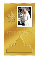TANZANIA 2683 ; MINT N.H. STAMPS ;  IGPC 1303 CO GOLD ( POPE FRANCIS - Tanzanie (1964-...)