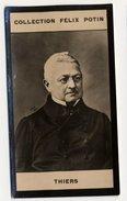 Collection Felix Potin - 1898 - REAL PHOTO - Adolphe Thiers, Président De La République Française - Félix Potin