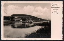 A3960 - Alte Foto Ansichtskarte - Dampfer - Dampfschifffahrt Weser Am Bückeberg - Gel 1939 - Karl Töricht - Paquebote