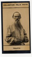 Collection Felix Potin - 1898 - REAL PHOTO - Léon Tolstoï, Lev Nikolaïevitch Tolstoï, Count Lev Nikolayevich Tolstoy - Félix Potin
