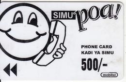 TANZANIA - Simu Poa, MIC Tanzania Telecard, First Issue 500/-, Used - Tanzania