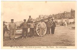 De Panne - Een Reddersploeg / Une équipe De Sauveteurs - Geanimeerd - 1948 - De Panne