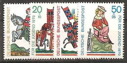 BRD 1970 // Mi. 612/615 ** - [7] Repubblica Federale