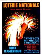 PUBLICITE: LOTERIE NATIONALE A VOIR (9cm X 12cm) - Billetes De Lotería