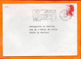 LOIRE-ATL., La Baule, Flamme SCOTEM N° 8659, Ville De Congrès - Postmark Collection (Covers)
