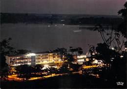 Afrique (Centrafrique) République CENTRAFRICAINE CENTRE AFRICAINE- BANGUI  Rock Hôtel- (vu De Nuit)  *PRIX FIXE - Central African Republic