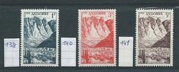 Frans-Andorra    Y /T     138 + 140 + 141     (XX)
